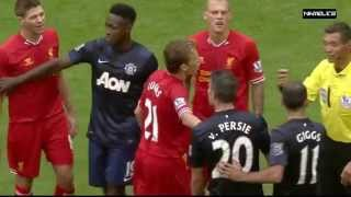 Download Liverpool vs Manchester United • Fights, Fouls - Referees, Red Cards Video
