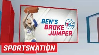 Download Should Ben Simmons listen to the advice Kobe Bryant had for him?   SportsNation   ESPN Video