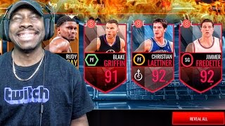 Download ELITE 8 PACK OPENING & 92 OVERALL LEGENDS OF MARCH! NBA Live Mobile 16 Gameplay Ep. 90 Video