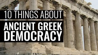 Download Ten Things You Really Should Know About Ancient Greek Democracy - Professor Paul Cartledge Video