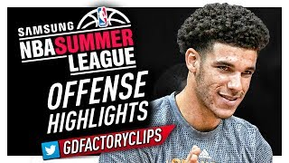Download Lonzo Ball MVP Offense Highlights (2017 Summer League) - LA Lakers Debut! Video