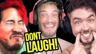 Download Try Not To Laugh at Youtubers Try Not To Laugh Challenge YLYL #0038 Video