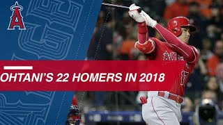 Download See all 22 of Shohei Ohtani's homers from 2018 Video