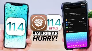 Download iOS 11.4 b3 Jailbreak Released! HURRY! Video