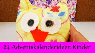 Download 24 Adventskalender Ideen für Kinder | Adventskalender für Kinder befüllen | Geschwister & Enkel Video