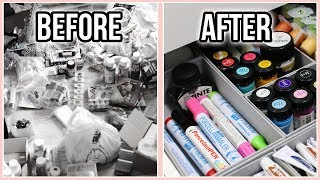 Download Decluttering & Organizing My Arts & Crafts Supplies the Konmari Way | Moving Into My New Apartment Video