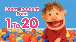 Download Super Duper Ball Pit | Learn To Count From 1 To 20 | Educational Videos For Kid Video