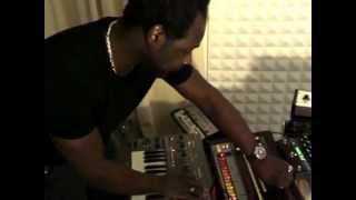 Download A Guy Called Gerald plays analogue in his studio Video