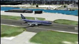 Download 747 Landing at Meigs (FS2004) Video