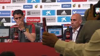 Download Fernando Hierro, Presentado como Nuevo Seleccionador Nacional Video