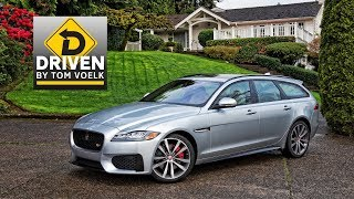 Download 2018 Jaguar XF Sportbrake Car Review Video