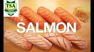Download How to make Sushi 'Salmon'(How to filet salmon)Tokyo sushi academy東京すしアカデミー Video