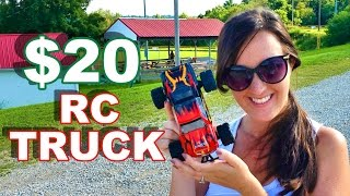 Download $20 RC Truck Better than $500 RC Truck? WLToys L343 1/24 Scale Brushed Monster Truck - TheRcSaylors Video