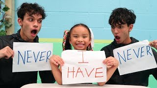 Download NEVER HAVE I EVER ft. Our Little Sister! Video