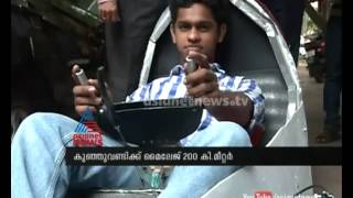 Download New Innovation:Car with a mileage of 200 km/litre made by Barton Hill Engineering college students Video