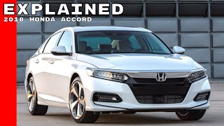 Download 2018 Honda Accord Explained Video