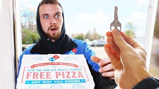 Download I Ordered Pizza And Tipped The House Video