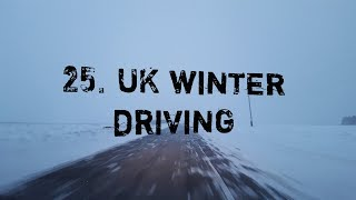 Download 25. UK Winter Driving - How to Drive in Snow, Slush & Typical British Winter Conditions Video