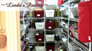 Download ~Cleaning And Organizing My Pantry With Linda's Pantry~ Video