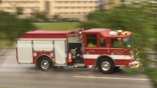 Download Broken Arrow Fire Department Engine 7 Responding To A Structure Fire!!!!! Video