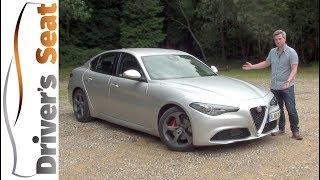 Download Alfa Romeo Giulia 2017 Review   Driver's Seat Video
