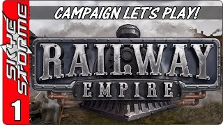 Download Railway Empire Campaign - Let's Play / Gameplay - Episode 1 (New Tycoon Strategy Game 2018) Video