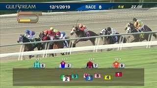 Download Gulfstream Park December 1, 2019 Race 8 Video