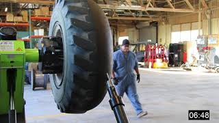 Download Foam tire Removal Process Video