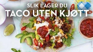 Download Taco UTEN kjøtt MED bønner og cottage cheese - skikkelig digg | TINE Kjøkken Video