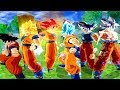 TODAS AS TRANSFORMAÇÕES DO GOKU - SSJ, SSJ2, SSJ3, SSJ GOD, BLUE E INSTINTO SUPERIOR DOMINADO !