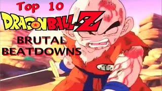 Download Top 10 DRAGON BALL Z Brutal Beatdowns Video