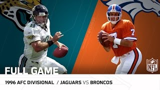 Download Jaguars vs. Broncos - 1996 AFC Divisional Playoffs: Jaguars Upset John Elway | (FULL GAME) | NFL Video
