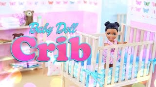 Download DIY - How to Make: Baby Doll Crib - Handmade - Furniture -Craft - 4K Video