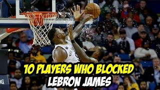 Download 10 Players who Blocked Lebron James Video
