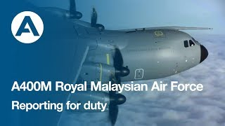 Download A400M Reporting for duty with the Royal Malaysian Air Force Video