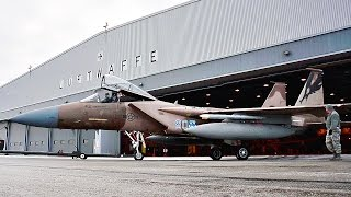 Download F-15 Eagles Prepare for Launch at Canadian Forces Base Goose Bay Video