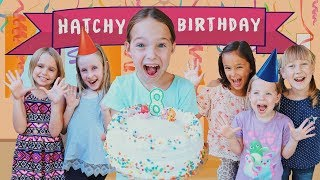 Download Toy Hotel Celebrates Addy's Hatchimals Filled Birthday !!! Video
