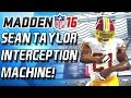 Download SEAN TAYLOR! ZOMG! INTECEPTION MACHINE! - Madden 16 Draft Champions Video