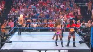 Download Impact Wrestling 6 30 11 Mickie James, Tara , Tessmacher vs Winter, Love, Madison Video