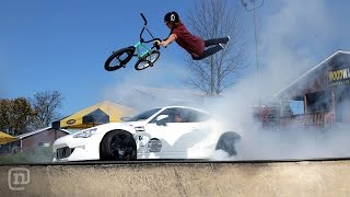 Download Ryan Tuerck Shreds Tires! NEW Street FRS Drifting At Woodward: Tuerck'd Video