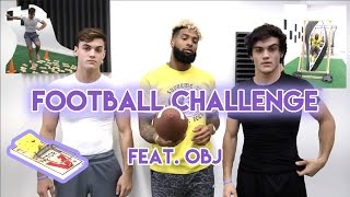 Download Football Challenge with Odell Beckham Jr.!! Video