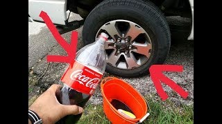 Download How to clean ANY car tires with COCA COLA (SHOCKING RESULTS!) Video