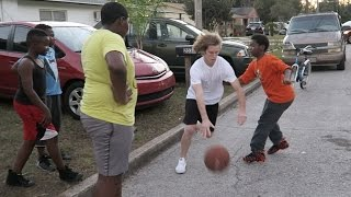 Download Playing Basketball In The Hood! Video