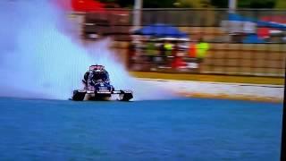 Download Top fuel racing boat crash Video