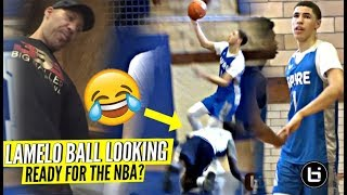 Download LaMelo Ball RESPONDS to OVERRATED Chants & DROPS a Double Double In 1st Game For Spire! Video
