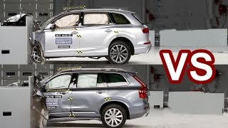 Download 2016 Volvo XC90 Vs 2017 Audi Q7 - Crash Test Video