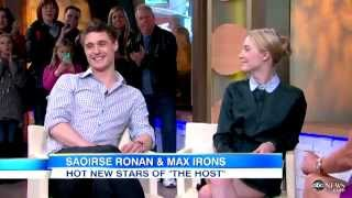 Download Max and Saoirse's interview on GMA Video