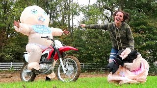 Download GIANT BABY CHALLENGE!! (Super Funny) Video