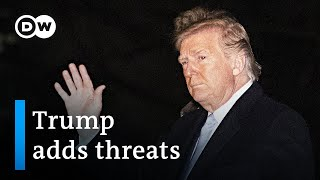 Download Trump doubles down on Iran threats, warns of sanctions for Iraq | DW News Video