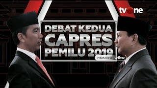 Download [FULL] Debat Kedua Capres 2019: Jokowi vs Prabowo Video
